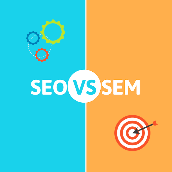 seo vs sem - complete guide for the best roi
